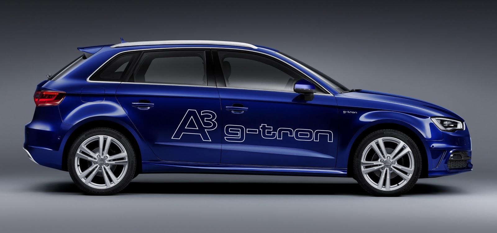 Press release the new audi a3 sportback g tron