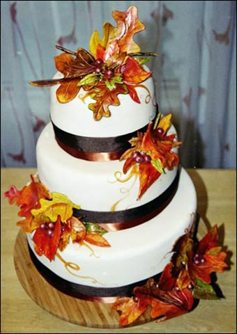 Fall Themed Wedding Cakes » Pink Cake Box. - fihumdbufpo51\'s soup