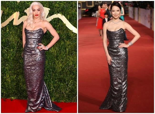 2014金鐘獎:天心撞衫英國小天后Rita Ora