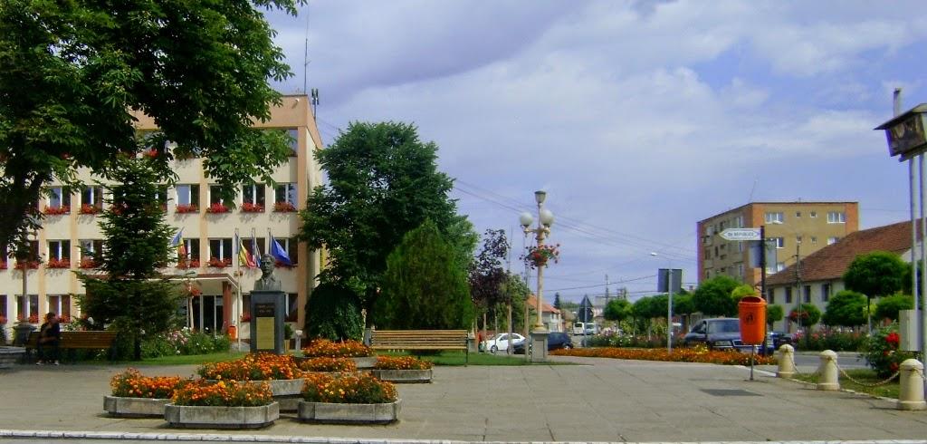 Primăria oraşului Sânnicolau Mare