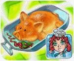 Bánh nướng hình lợn, game ban gai