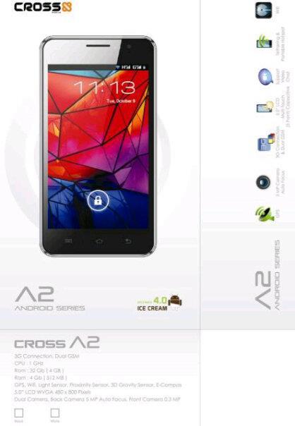 Harga Spesifikasi HP Cross A20 Terbaru 2013