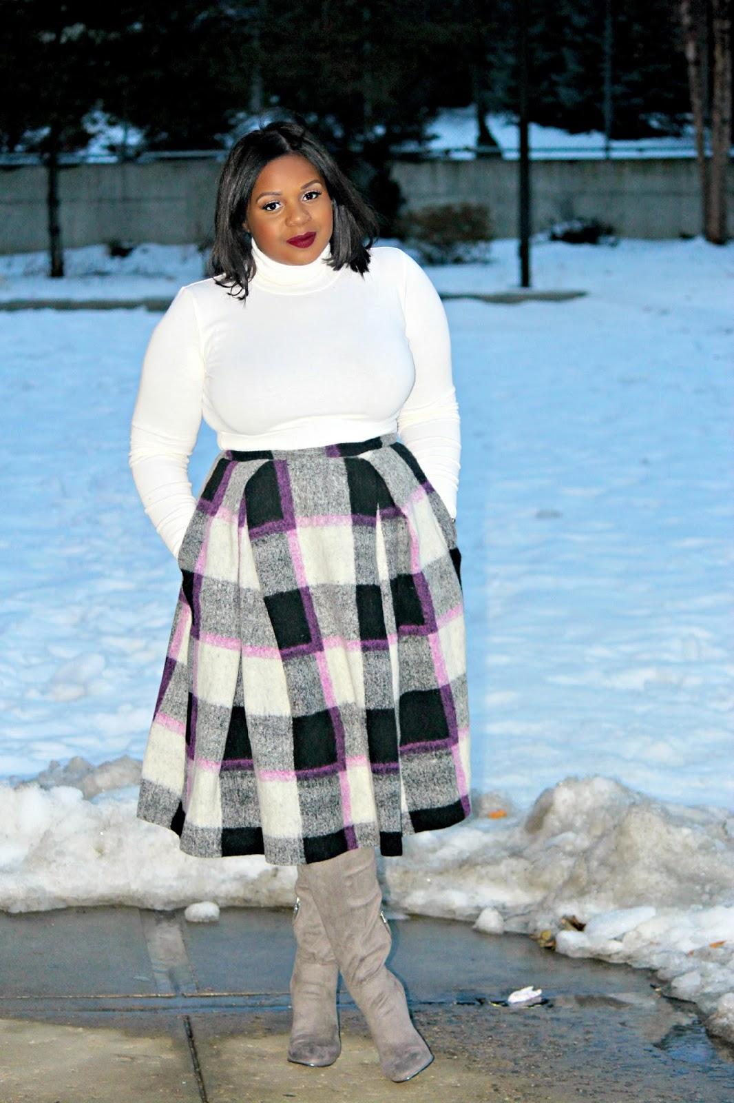 asos full midi skirt plus size, plus size blogger