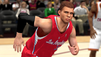 NBA 2K14 Blake Griffin Cyberface Patch