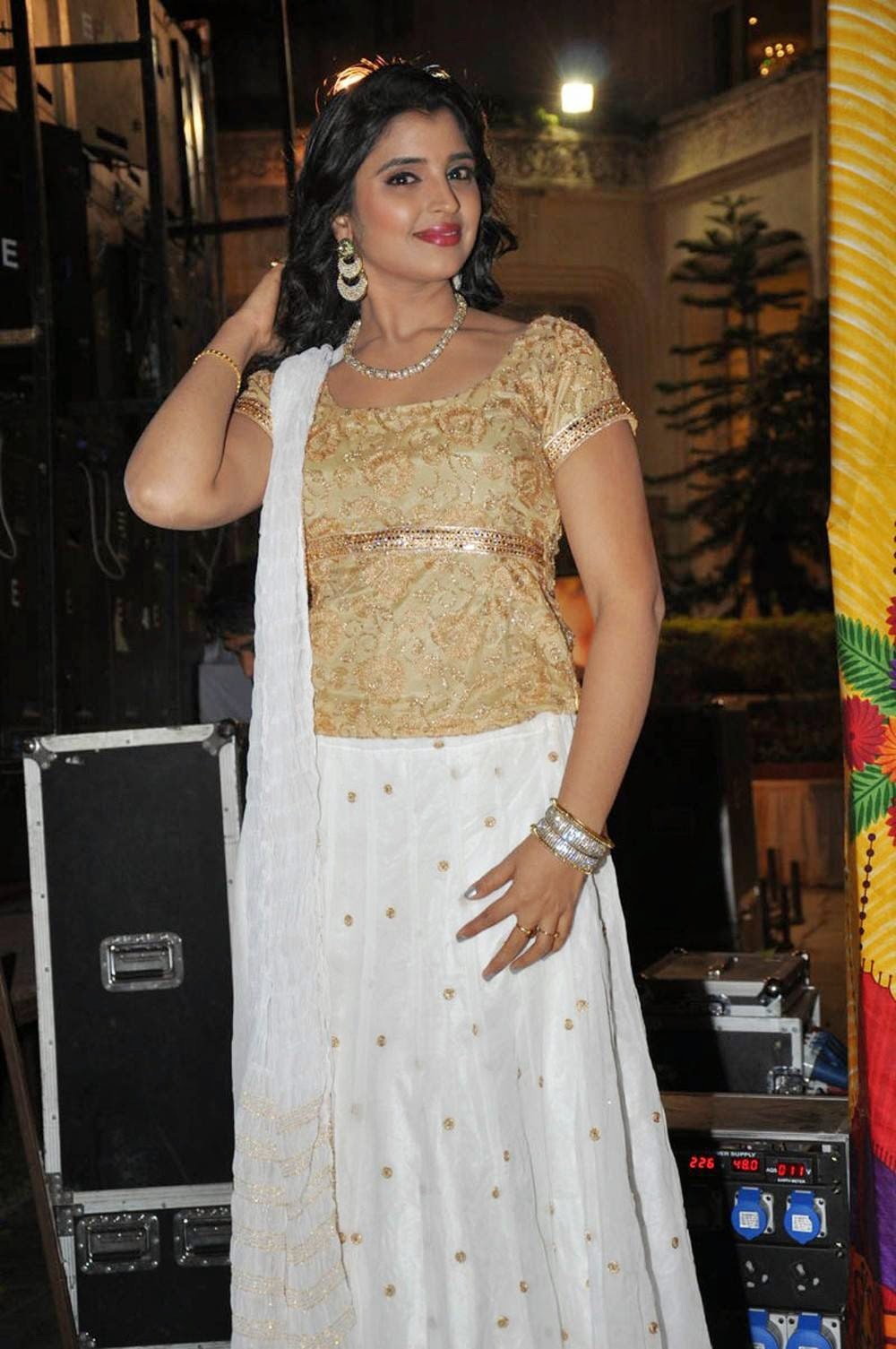 Anchor Syamala Latest Cute Hot Spicy Photos Gallery At Ram Leela Movie Audio Launch