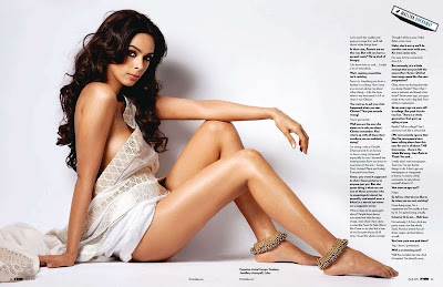 Mallika Sherawat Hot Boobs Thigh Show FHM Photoshoot