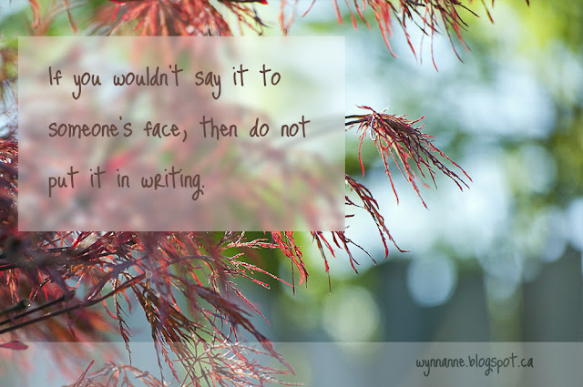 Art photo of Japanese maple tree with words superimposed.
