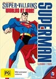 capa Download –  Superman Super Vilões  Mundos em Guerra – DVD R