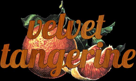 velvet tangerine