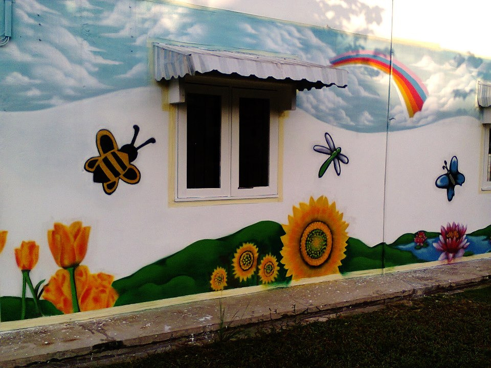 Murals sculptures artistic construction 014 6417833 for Mural tadika