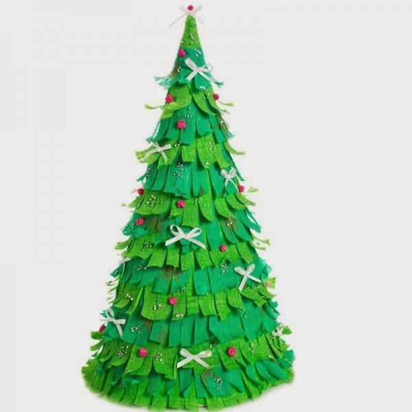 Manitos innovadoras - Originales arboles de navidad ...