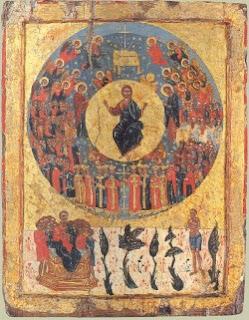 Icono de la segunda venida de Cristo