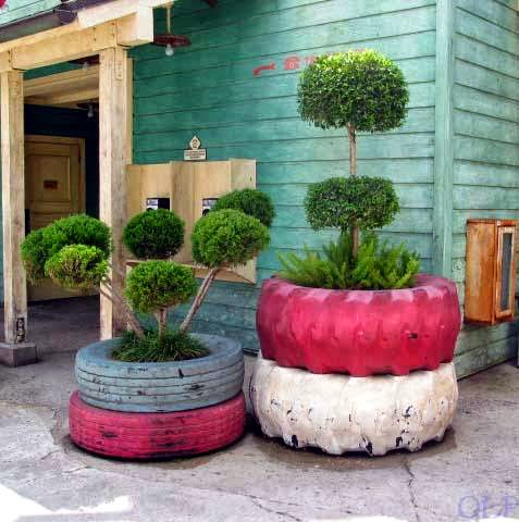 Planter design for Garden Decoration