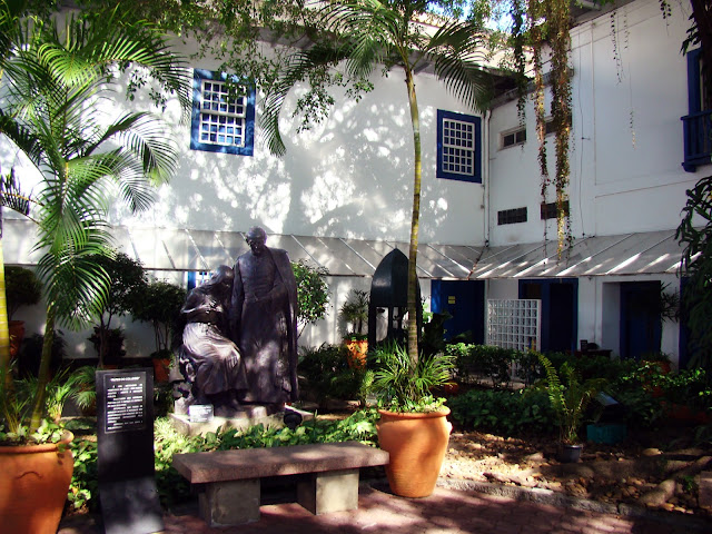 Patio do colégio