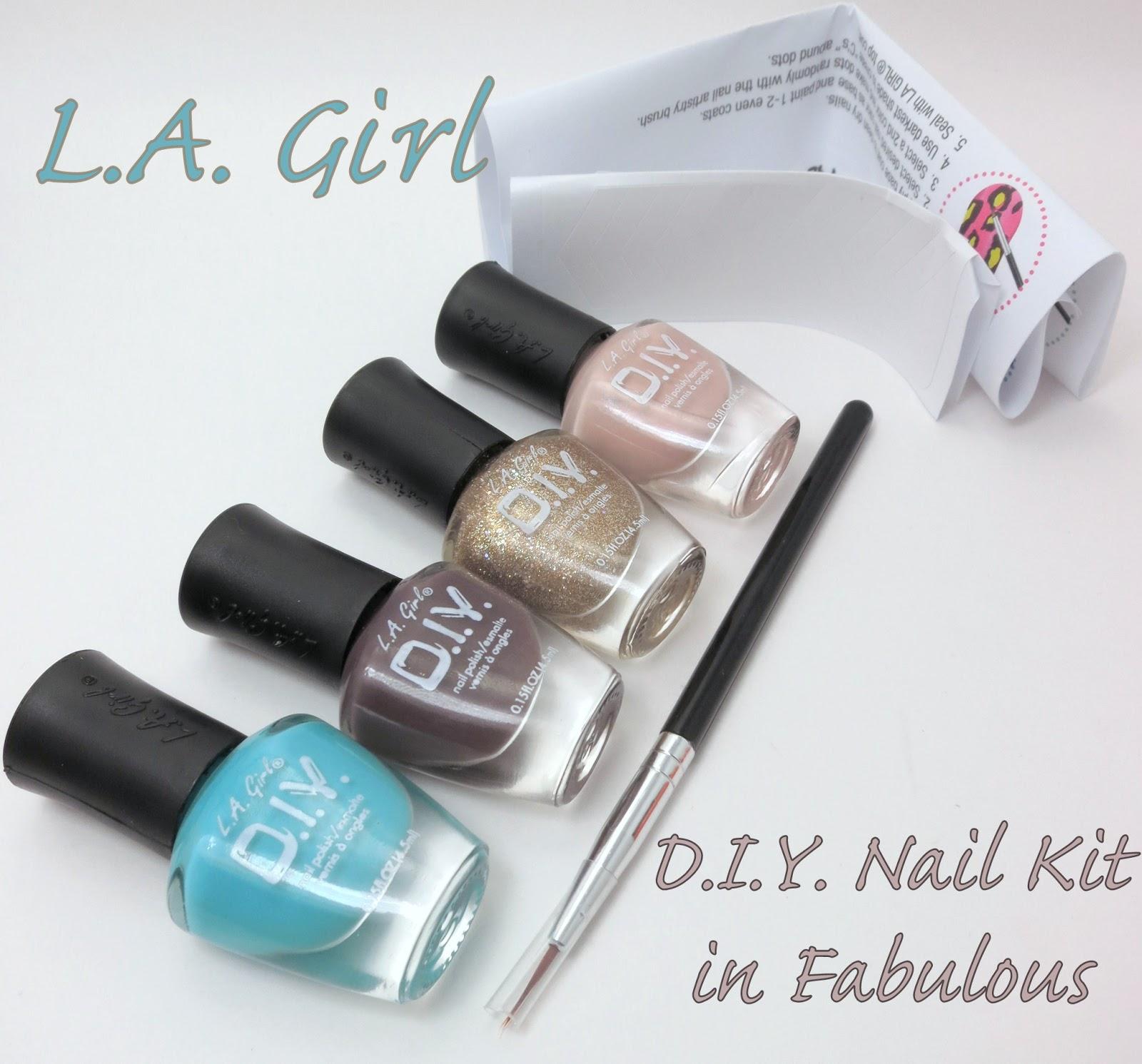 Oh Three Oh Four: L.A. Girl D.I.Y. Nail Kit in Fabulous