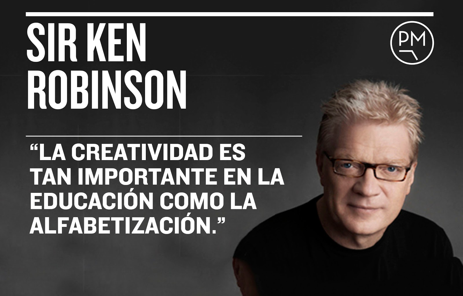 sir ken robinson Sir ken robinson good morning how are you it's been great, hasn't it i've been blown away by the whole thing in fact, i'm leaving.