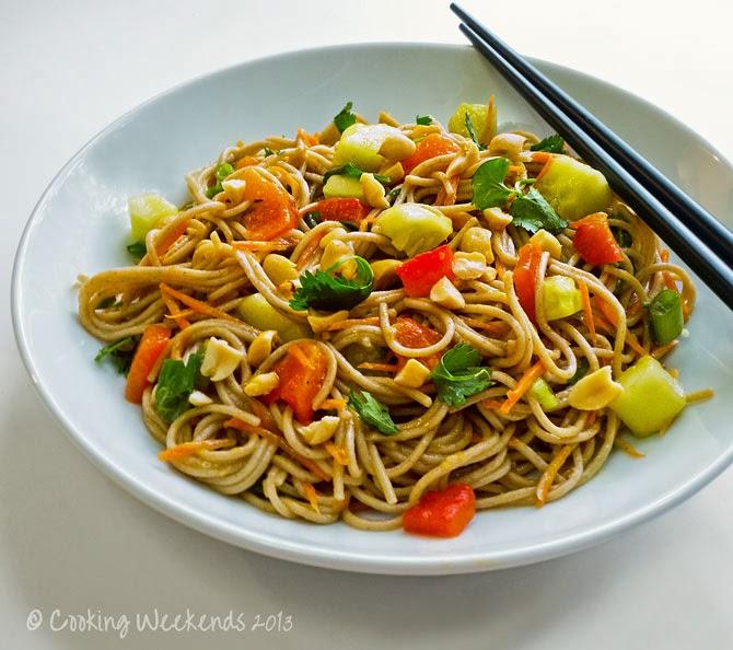 Cooking Weekends: Soba Noodle Salad