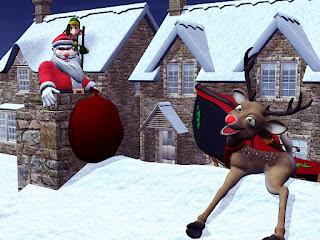 3d santa Funny Images