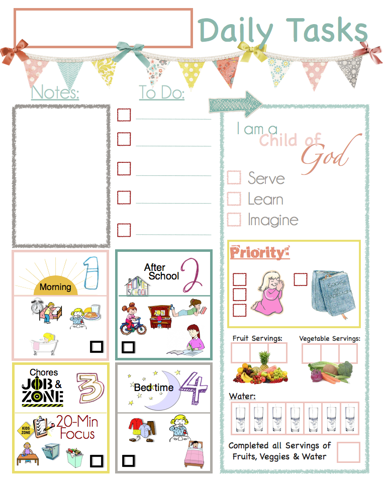 mormon mom planners - monthly planner  weekly planner  lds clipboard chore charts