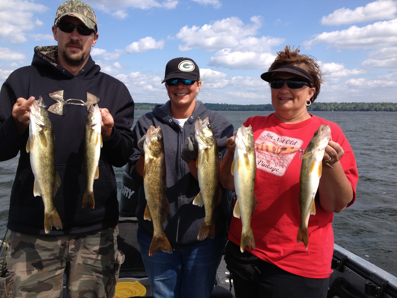 vilas county summer walleye fishing wisconsin fishing report