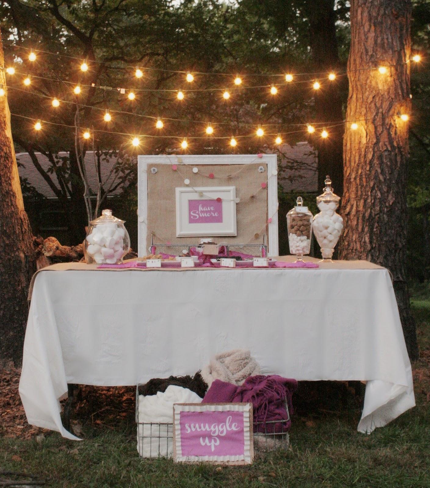 Backyard Bonfire Wedding : Bonfire Parties on Pinterest  Sweet 16 Bonfire, Bonfire Birthday