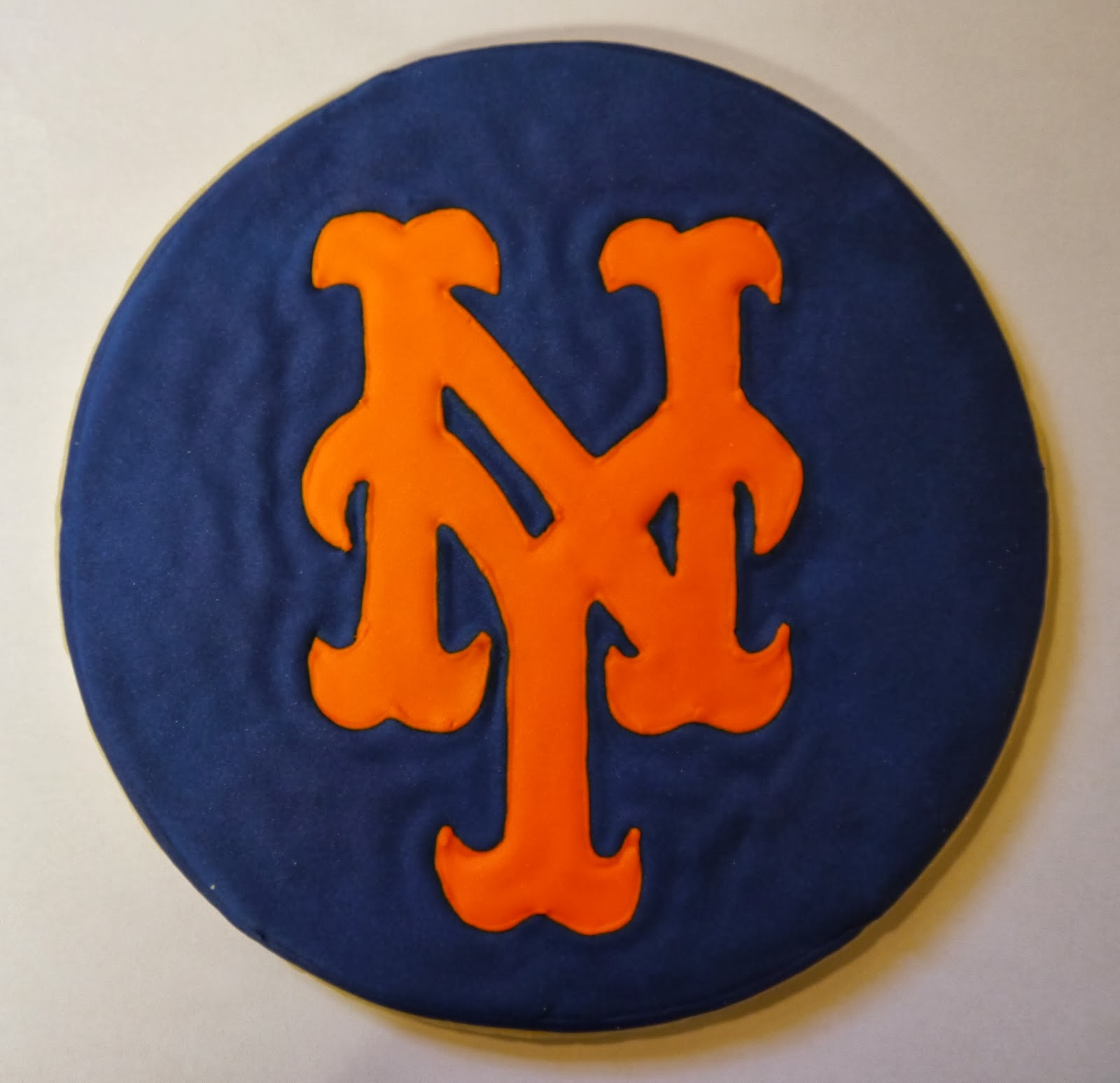 creative cookies by loren sports logo ny mets