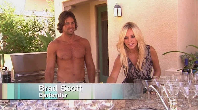 Brad Scott Shirtless on Real Housewives of Orange County s6e01