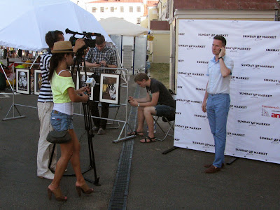 Корреспонденты на фестивале Kremlin LIVE-2013
