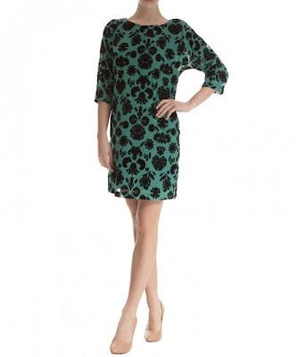 koton leopar desenli yeşil siyah elbise, bol kesim, gece elbisesi olarakta giyilebilir