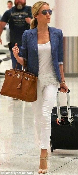 Tendência roupas para viajar confortavelmente