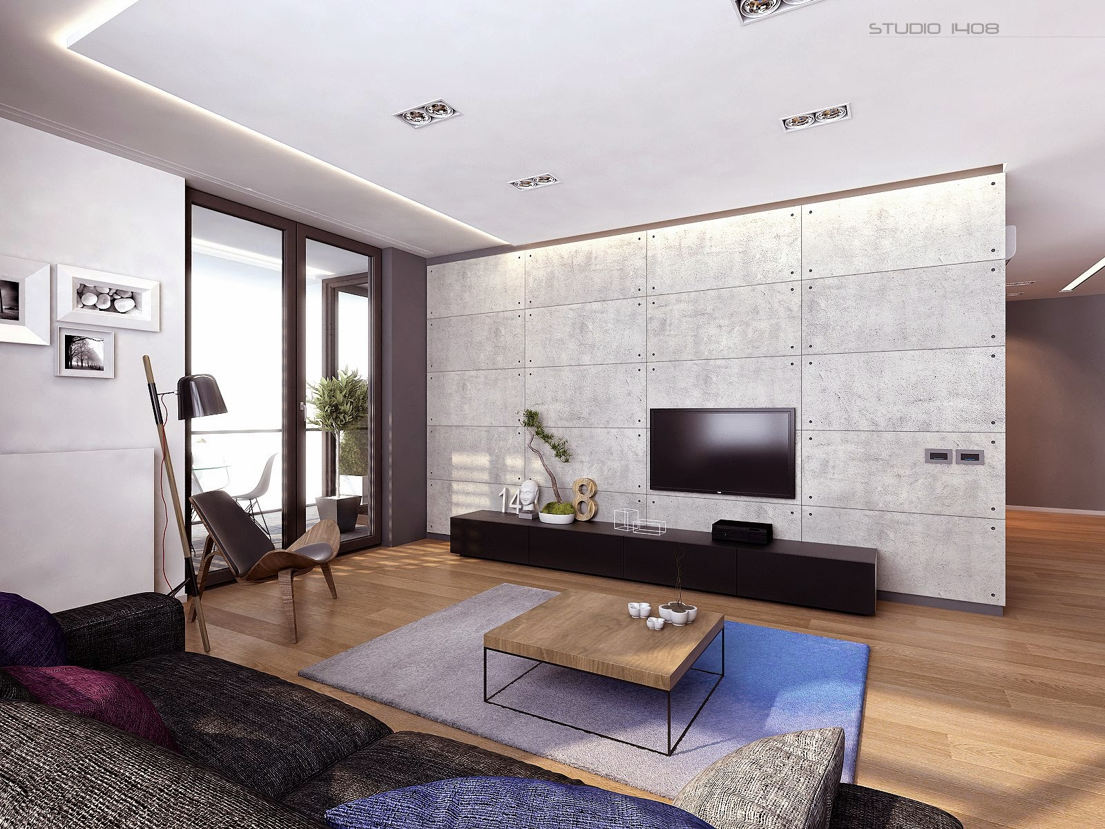 Modern Minimalist Living Room Wall Art Design Ideas