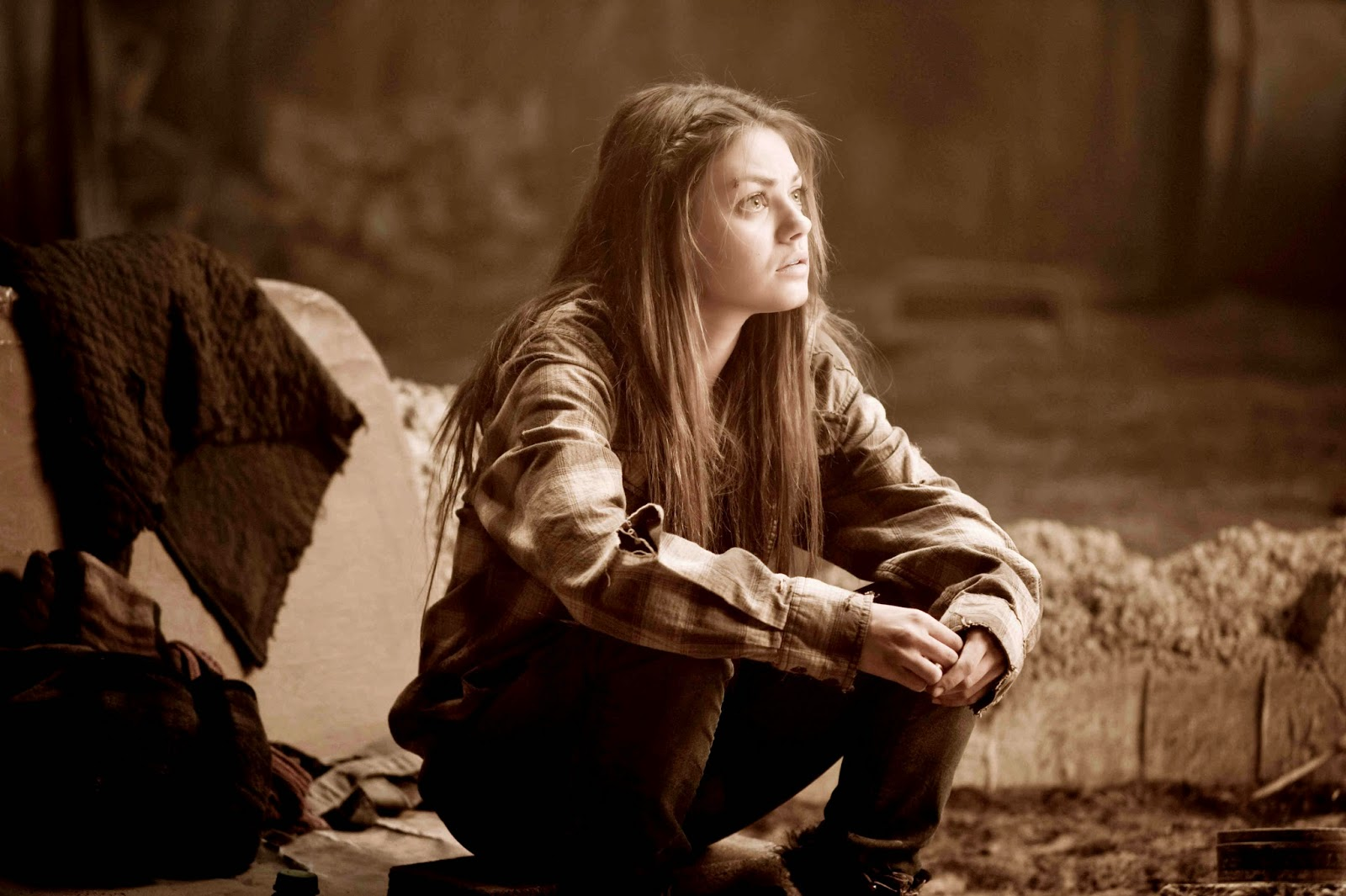 The Book of Eli: Mila Kunis as Solara ponders the universe | A Constantly Racing Mind