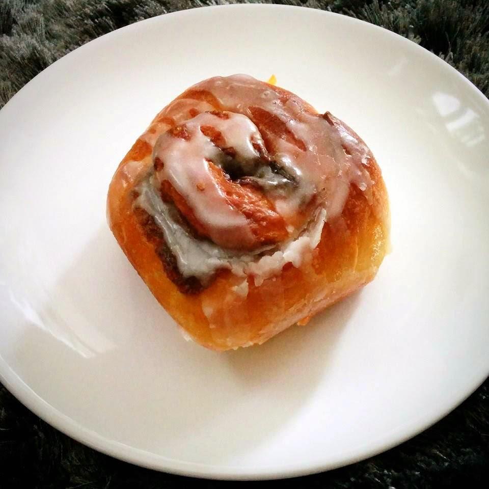 Skořicový šnek - cinnamon roll