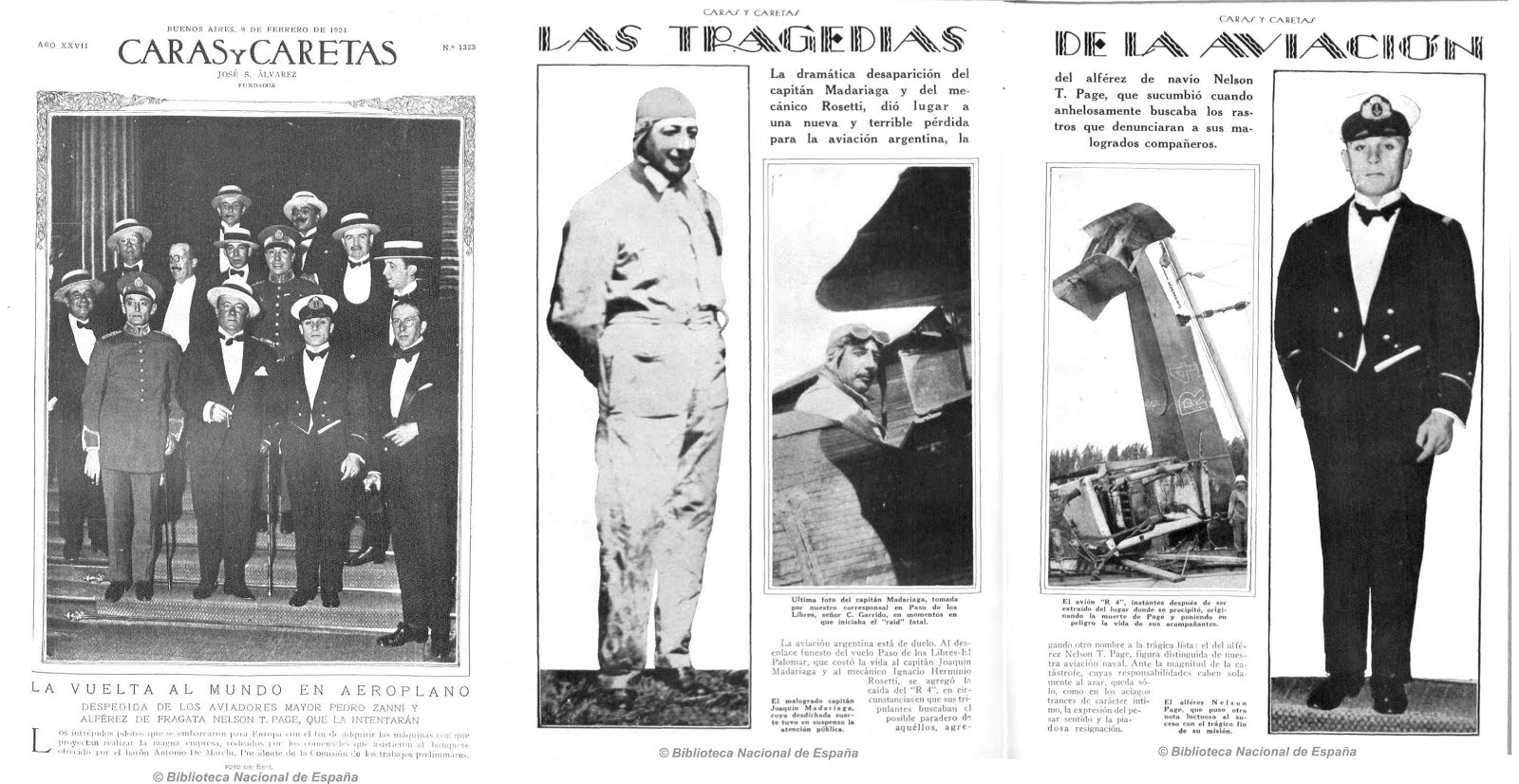 CENTENARIO DE LA AVIACIÓN NAVAL ARGENTINA: Alférez de Navío Nelson T. PAGE