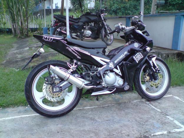 Modifikasi Motor Yamaha Mx