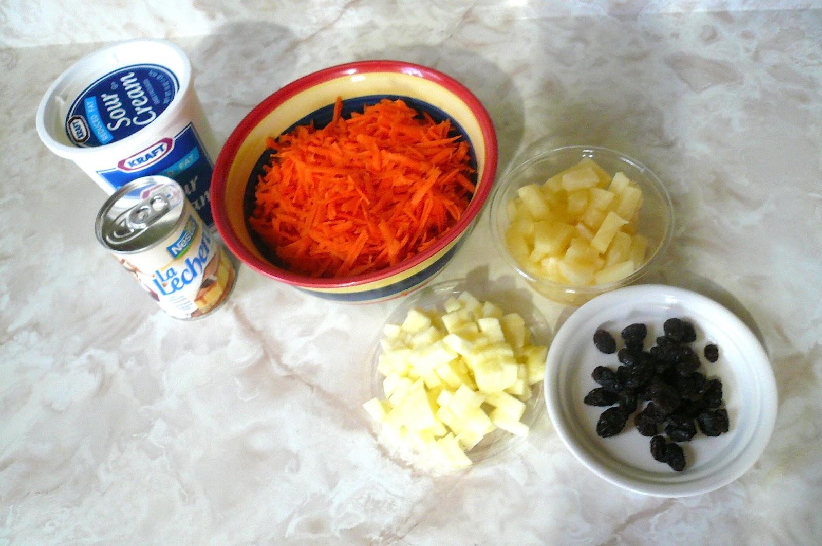 Mi cocina r pida ensalada dulce de zanahoria - Dulce de zanahoria ...