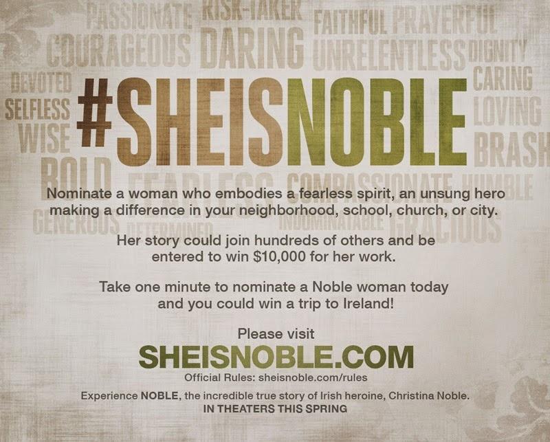 #SHEISNOBLE