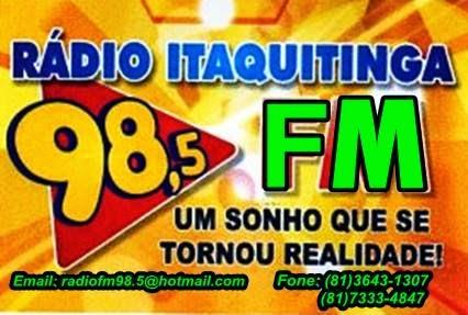 MUSICA AO VIVO É NA ITAQUITINGA FM