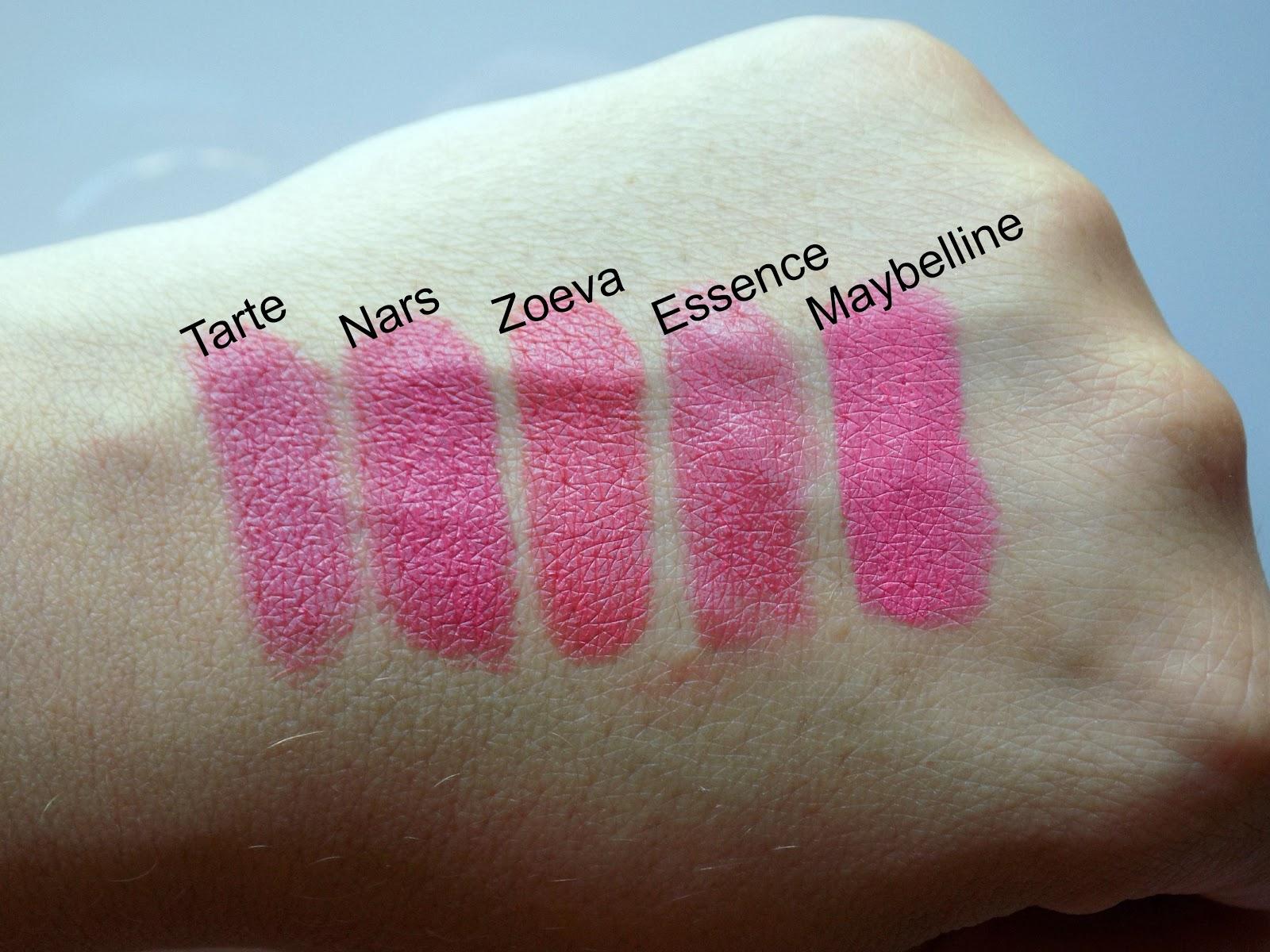 coral lipsticks