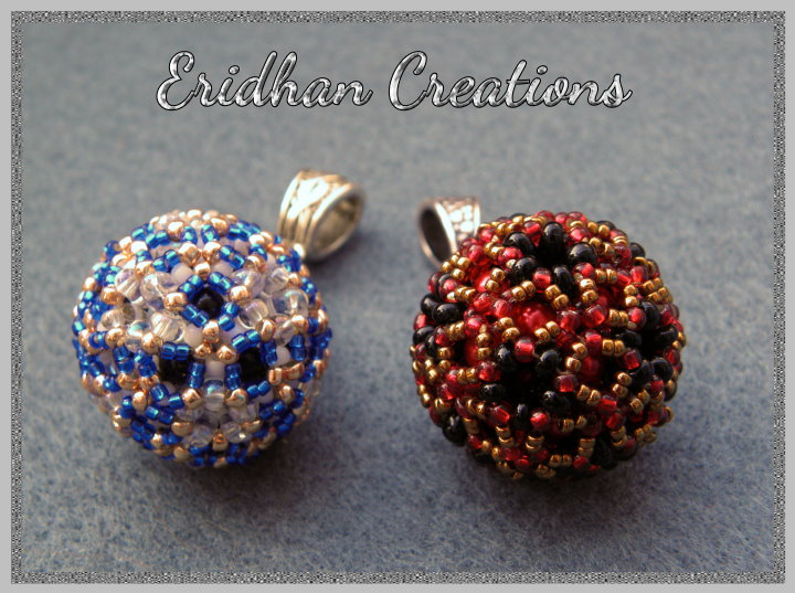 beaded spheres