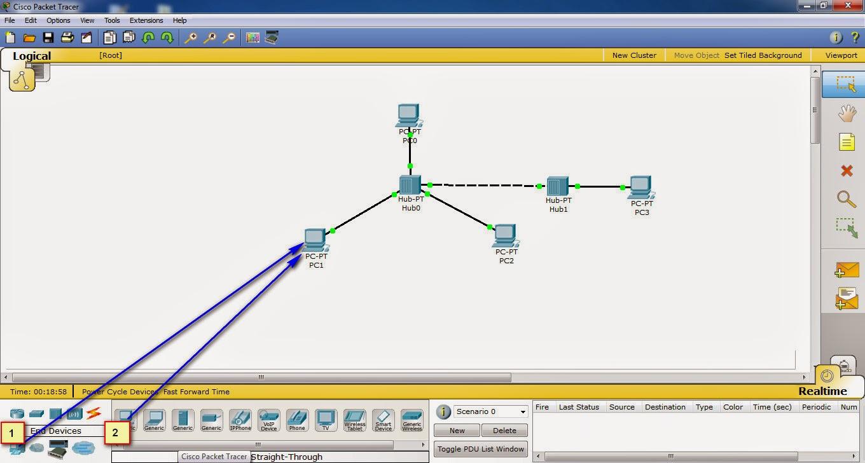 Cara Membuat Simulasi Jaringan LAN Dengan Menggunakan Aplikasi Cisco Packet Tracer
