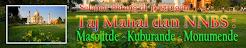 Taj Mahal dan NNBS : Masojitde - Kuburande - Monumende