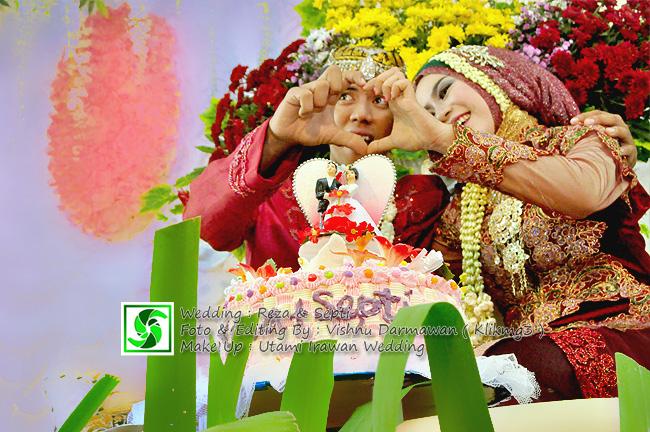 Wedding : Reza & Septi || Foto & Editing By : Vishnu Darmawna ( Klikmg3 )