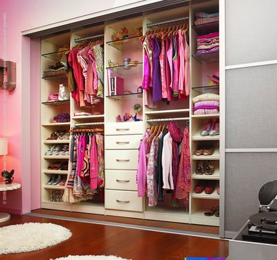 Decoraciones y hogar bonitos y modernos closets para for Closet juveniles modernos