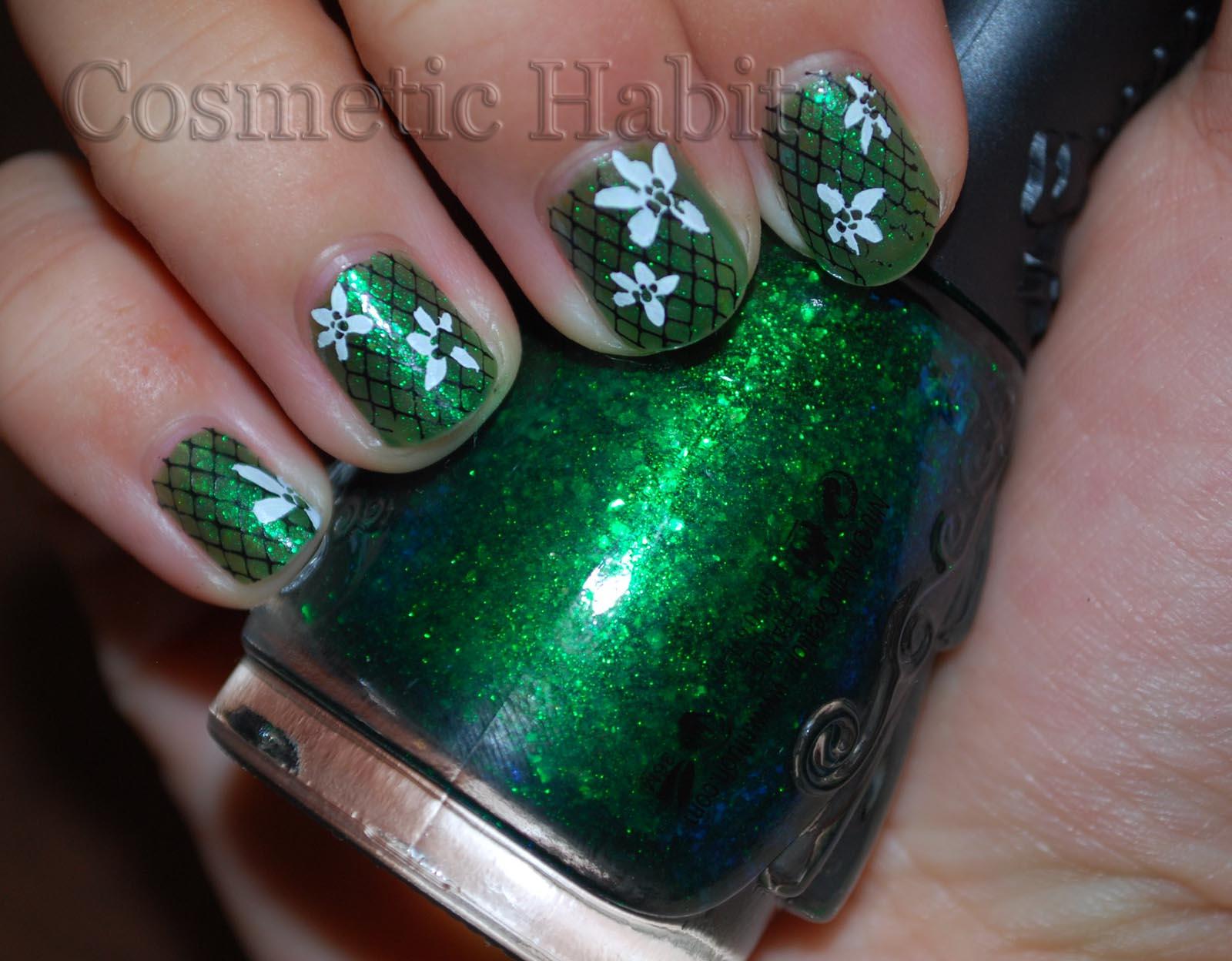 Todo Unhas: Uñas de Color Verde Esmeralda
