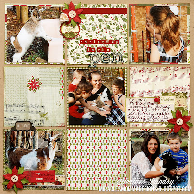 Ideas For Using 6x6 Paper Pads_Christmas Scrapbook