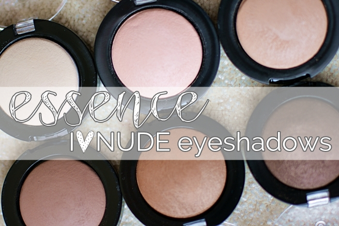 {essence} I ♥ NUDE eyeshadows 01