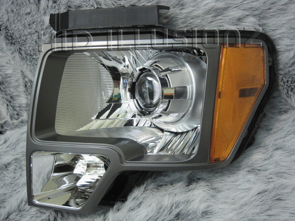 HID ILLUSIONZ: Ford F-150 FX-R Minigun2 Projector HID Retrofit Headlights