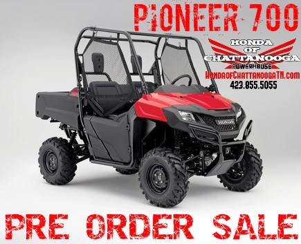 2014+Pioneer+700+Sale+Honda+of+Chattanoo