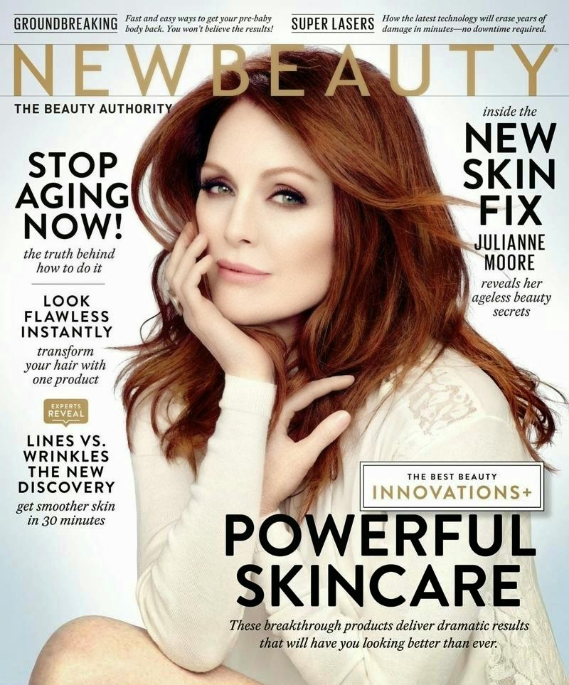 Julianne Moore - PhotoShoot for NewBeauty Magazine, Fall 2014